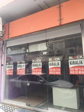 BLACK GAYRİMENKUL'DEN MERKEZ MAHALLESİ'NDE KİRALIK DÜKKAN