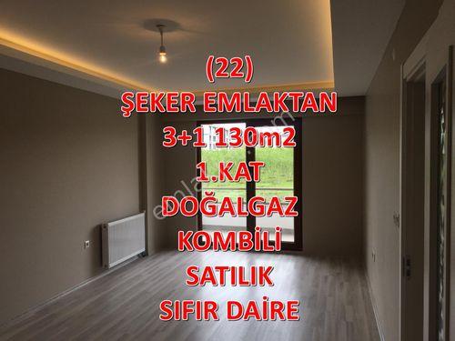 22-ŞEKER EMLAKTAN 3+1 130m2  SATILIK SIFIR DAİRE