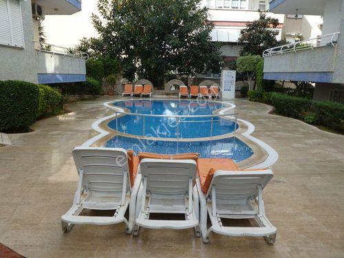 2+1 Alanya oba site içi havuzlu daire