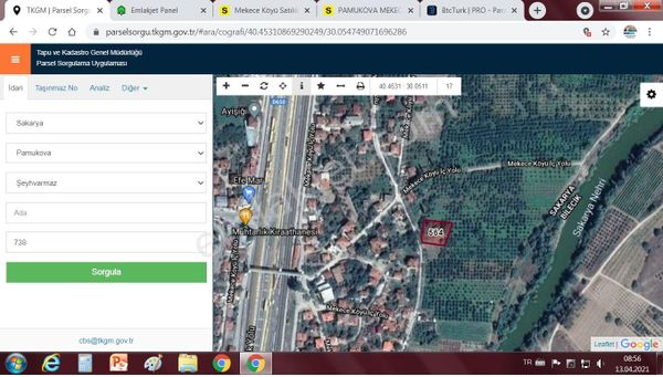 sakarya pamukova mekece mahallesınde imar içinde %40 imarlı