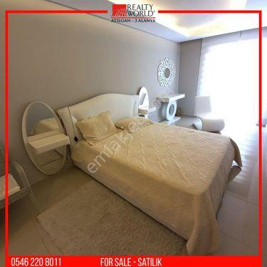🔸 Alanya Mahmutlar`da Satılık Lux 3+1 Residence Daire