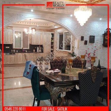 🔸 Alanya Oba`da Satılık Lux 3+1 Villa