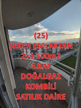 25- ŞEKER EMLAKTAN YENİ MAH. 2+1 100 m2 KİRALIK DAİRE