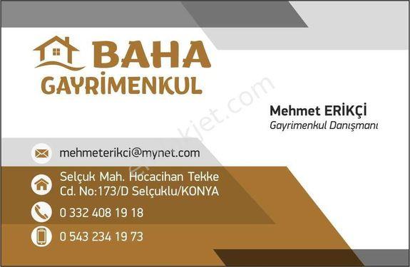 BAHA'DAN KARATAY ERLER MAHALLESİNDE 663 M2 SATILIK ARSA