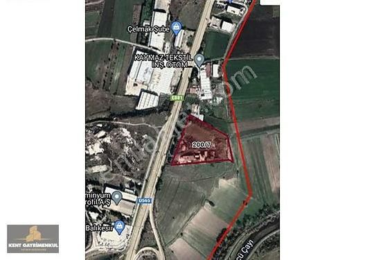 BALIKESİR İZMİR YOLUNDA 23.800 m2 TARLA