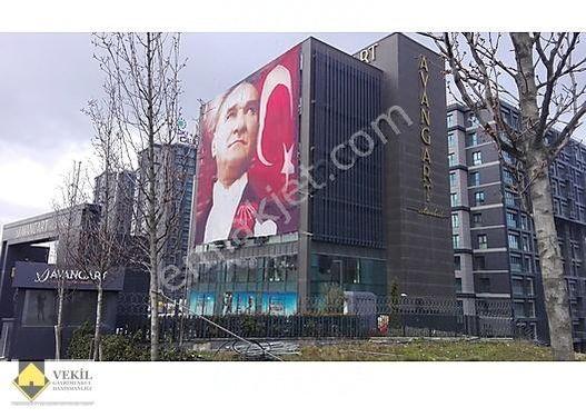 AVANGART ISTANBUL'DA SIFIR 2+1 Rezidans DAIRE