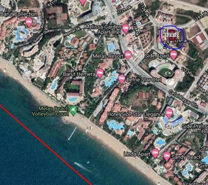 Antalya Side Mahallesinde denize 600 metre uzaklıkta arsa !!!