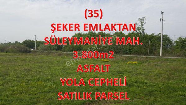 35-ŞEKER EMLAKTAN SÜLEYMANİYE MAH. SATILIK PARSEL