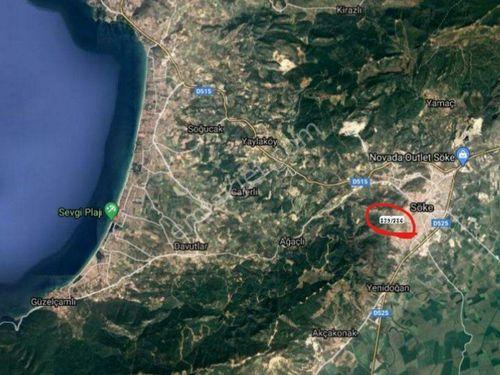 AYDIN SÖKE ÇELTİKCİ'DE 3 KATA İMARLI 822 MT2 ARSA