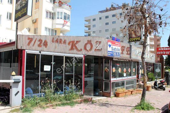 Lara Örnekköy'de Cadde Üzeri Satılık Dükkan
