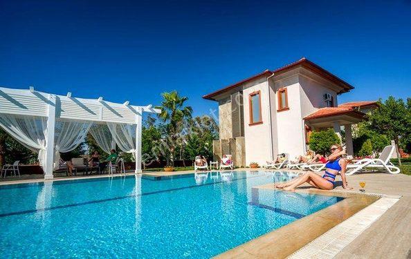 Belek Villa Deluxe 1+1 Daire - Ortak Havuzlu 66m²² 3 Kişi