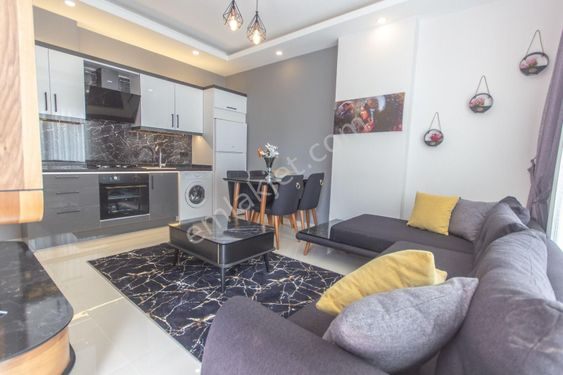 Alanya Mahmutlar New FURNİSHED 1+1 Apartment for SALE