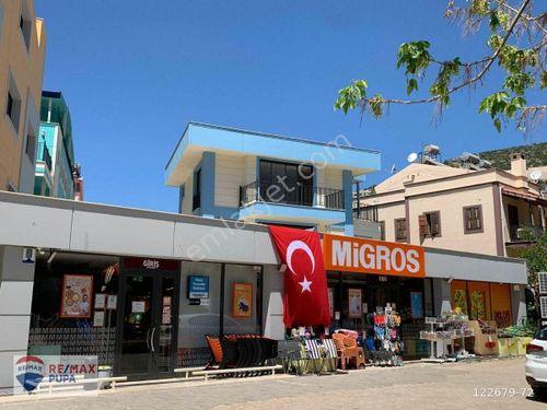 KAŞ KALKAN Kalamar' da Kurumsal Kiracılı Satılık Mağaza