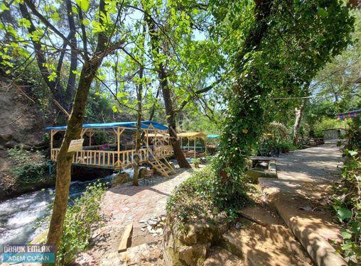 Muğla Köyceğiz Beyobası beldesinde satılık doğa restorantı