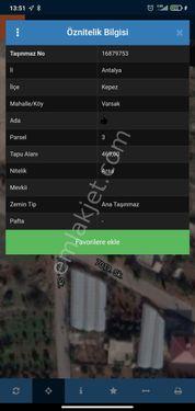 VARSAK MENDERES MAH 469MT İÇINDE 2+1 EVİ İLE BİRLİKTE ARSA