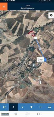 Sürlücede Baskil Yoluna 580 metre mesafede