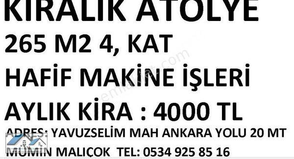 ANKARA YOLU ALTI ATOLYE