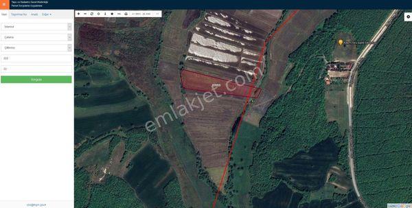 Sahibinden İstanbul Çatalca Çiftlikköy de Yatırımlık Tarla