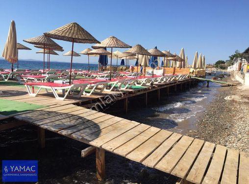 Ayvacık Küçükkuyu Plajında 485m2 içinde İşl.Ruhsatlı  Kafeyerya