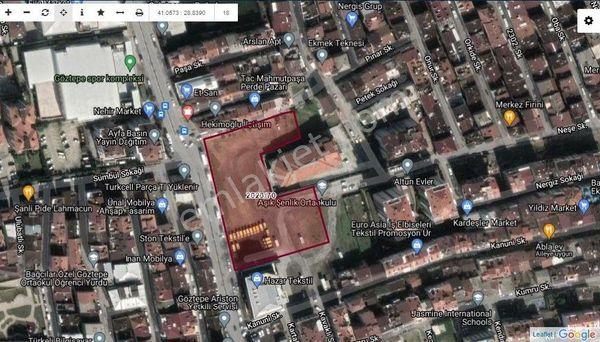 Bağcılar Mahmutbey Göztepe Cadde Üstünde Satılık Ticari Arsa