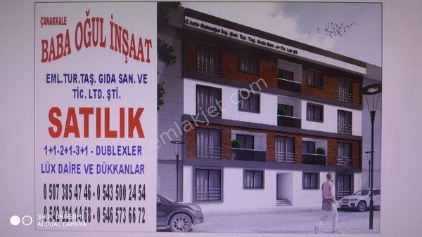 Çanakkale AYVACIK Çamköy'de üç pasel arsa