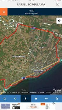 Gümüşyaka'da Merkeze Ve Denize Yakın Fırsat 1.000 m2 Arsa