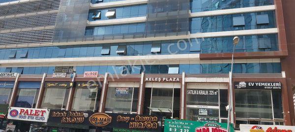 keleş plazada 105 m2 satılık ofis