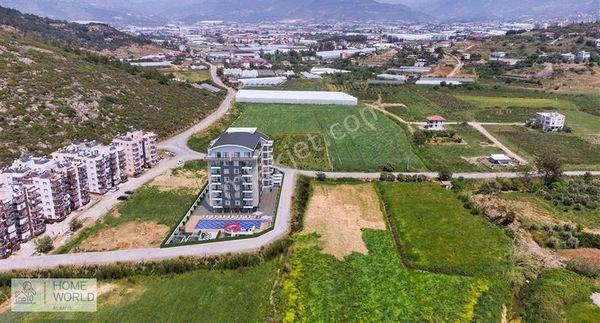Alanya Gazipaşa'da Yeni Proje Taksitli Satılık 1+1 2+1 Daireler
