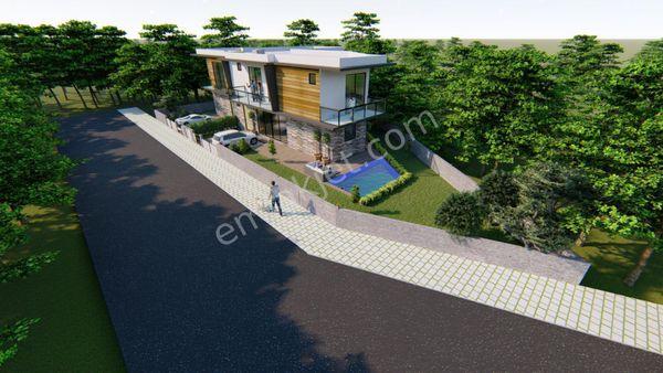 Fethiye Üzümlü bölgesinde satılık müstakil yeni villa