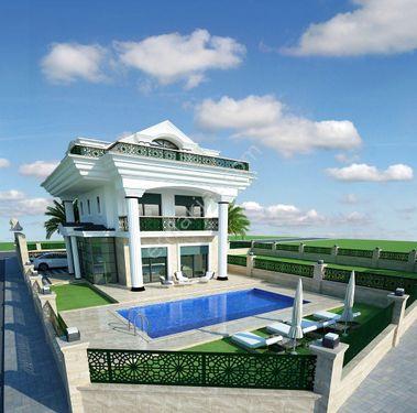 Fethiye Foça mahallesinde satılık lüks villa