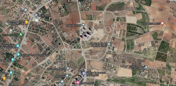 TURYAP'tan İNCEK TÜRKAN ŞORAY CADDESİ MEVKİİ 4.200 m2 ARSA