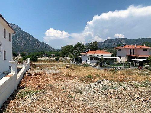Muğla Ortaca Mergenli de 417 m2 imarlı projesi hazır arsa satılık