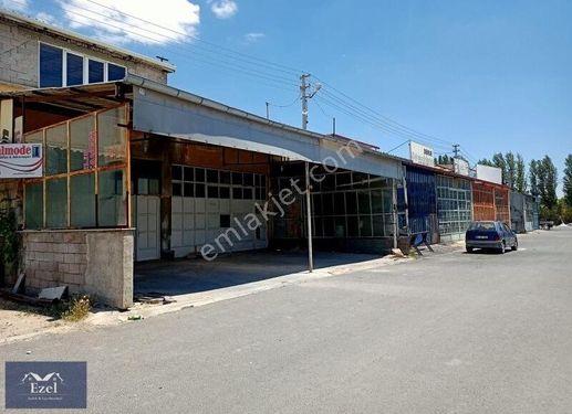 bor sanayi sitesinde satılık çift dükkan