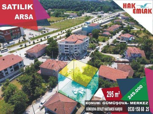 Hak Emlak'tan Gümüşova'da Hastane Karşısı Satılık 295 m2 Arsa