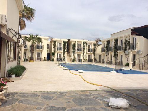 bodrum ortakent yahşide denize sıfır satılık otel