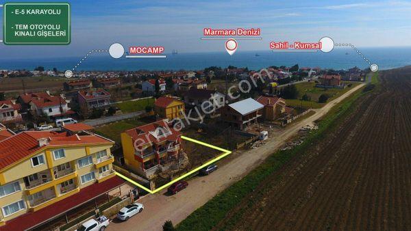 Silivri Semizkum'da Satılık Denize 100m Mesafede Müstakil Villa
