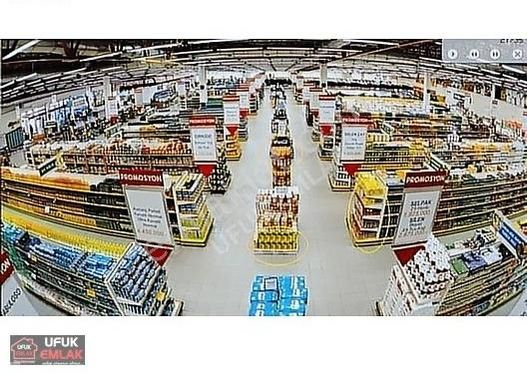 UFUK EMLAK'TAN KURUMSAL 7.500 TL NET KİRACILI MARKET