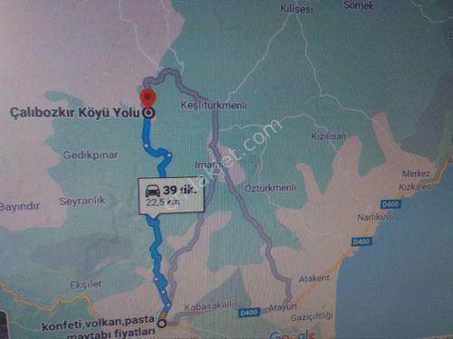 ACİL SATILIK ÇALTIBOZKIR MAHALLESİ' NDE 480 M2 ARSA