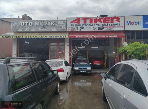 Silivri sanayiide acil satılık iki dükkan