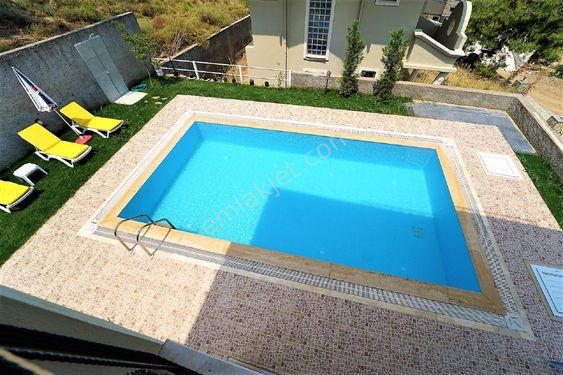 Sahibinden kocaçalış mevkinde 4+1 müstakil havuzlu kiralık villa