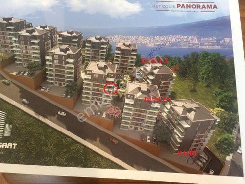 Orçe Panoroma da resimde işaretli satılık dublex daireler