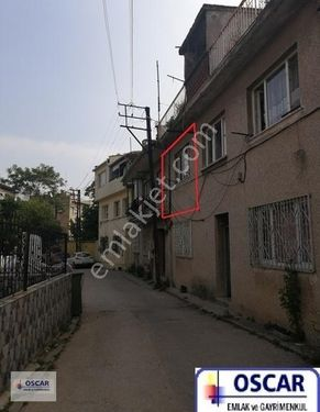 Bursa Osmangazi Ortapazarda 1. Kat Sobalı 1+1 Kiralık Daire