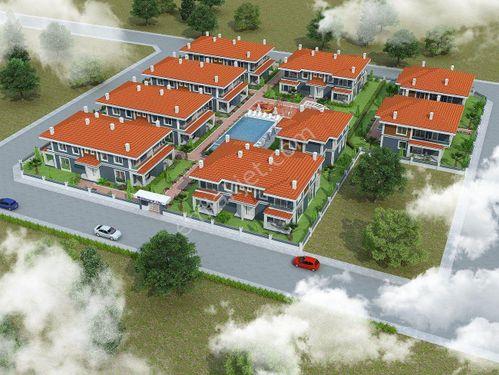 Dalaman'da Havuzlu Sitede 2+1 120 m2 Sıfır Satılık İkiz Villa