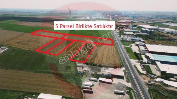 Ergene Vakıflar'da E-5 Üzerinde Satılık Tarla Portföy No: 618e