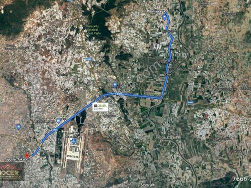 Aksu Gökdere'de Satılık Köy İçi Seralı Tarla