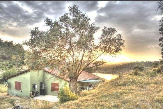 Süper doğa Ağaçlar Baraj Gölü Temiz hava Ev 150 m2 Bahçe.4.266 m2
