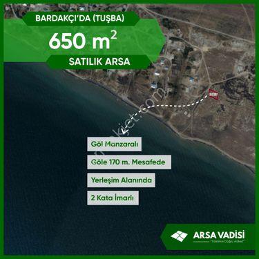 Arsa Vadisi'nden BARDAKÇI'DA  650 m2 Göl Manzaralı İmarlı  Arsa
