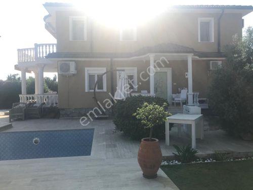Dalaman'da 4+1 EŞYALI 250 m2, Havuzlu Dubleks Villa SATILIK