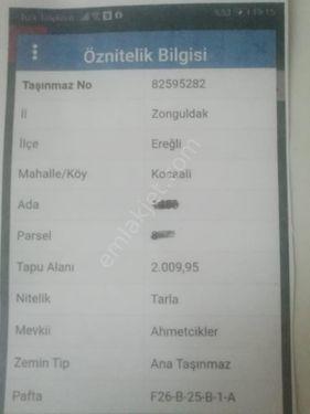 SÖZ EMLAKTAN KOCAALİ MH. DE 2000 m2 TARLA SATILIKTIR