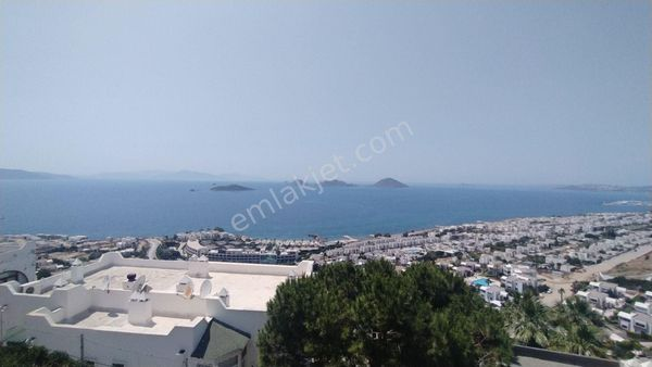 Bodrum Turgutreis'de Muhteşem Deniz ve Kos Manzalı Satılık Villa